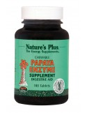 NATURE'S PLUS PAPAYA ENZYME Chewable 180