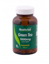 HEALTH AID Green Tea 1000mg 60 Tabs