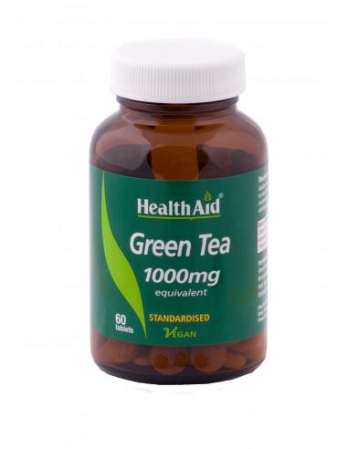 HEALTH AID Green Tea 1000mg 60 Tabs