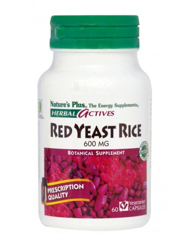NATURE'S PLUS RED YEAST RICE 600 MG VCaps 60