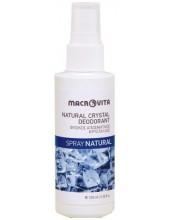 MACROVITA Natural Crystal Deodorant, Spray Natural 100ml