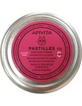 APIVITA Παστίλιες για τον πονεμένο Λαιμό με Βατόμουρο & Πρόπολη 45g