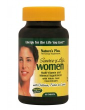 NATURE'S PLUS SOURCE OF LIFE WOMEN MULTI-VITAMIN 60 Tabs