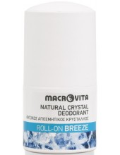 MACROVITA Natural Crystal Deodorant, Roll-On Breeze 50ml