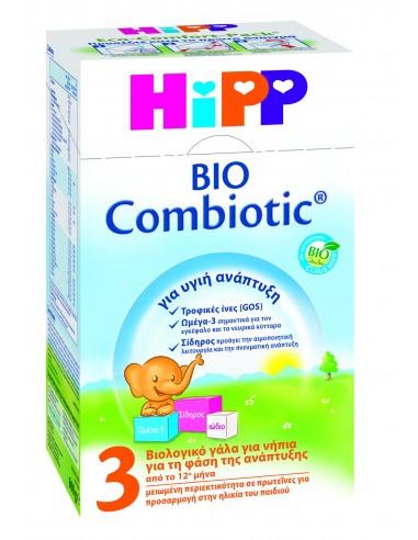 HIPP BIO COMBIOTIC 3 ΒΙΟΛΟΓΙΚΟ ΓΑΛΑ 600 gr
