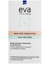 EVA Intima Fresh & Clean 12 Maxi Size Towelettes