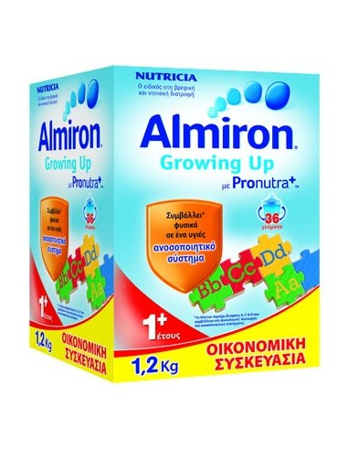 NUTRICIA ALMIRON Growing Up 1+ powder 1,2KG