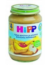 HIPP ΦΡΟΥΤΟΚΡΕΜΑ ΜΗΛΟ, ΜΠΑΝΑΝΑ, ΜΠΙΣΚΟΤΟ 190gr