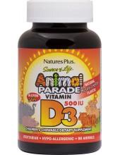 NATURE' S PLUS Animal Parade Vitamin D3 500iu 90 Animals