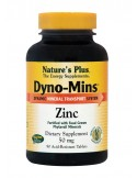 NATURE'S PLUS ZINC (Dyno Mins) 90 Tabs