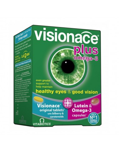 VITABIOTICS Visionace Plus 28Caps / 28Tabs