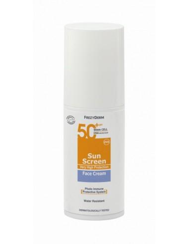 FREZYDERM SunScreen Face Cream SPF 50+ 50ml