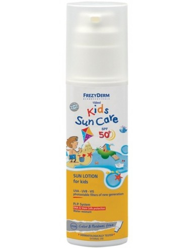 FREZYDERM Kids Sun Care SPF 50+ 150ml