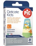 PIC DELICATE kids Αυτοκόλλητα Ελαστικά Strip Medium (19x72mm) 20τεμ