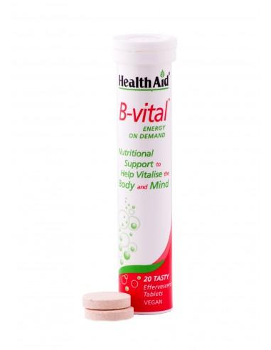 HEALTH AID B VITAL ENERGY ON DEMAND 20 tabs