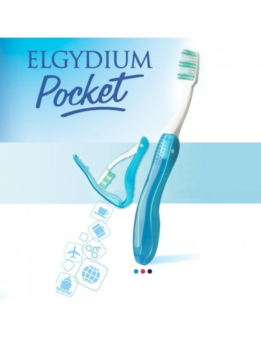 ELGYDIUM Pocket Toothbrush 1 Τεμάχιο