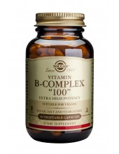 SOLGAR B-COMPLEX 100 veg.caps 50s