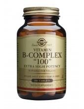 SOLGAR B-COMPLEX 100 veg.caps 100s