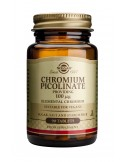 SOLGAR Chromium Picolinate 100ug tabs 90s