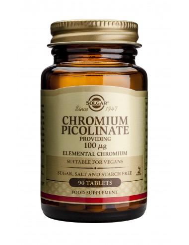 SOLGAR Chromium Picolinate 100ug tabs...