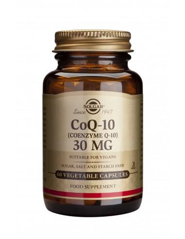 SOLGAR Coenzyme Q-10 30mg veg.caps 60s