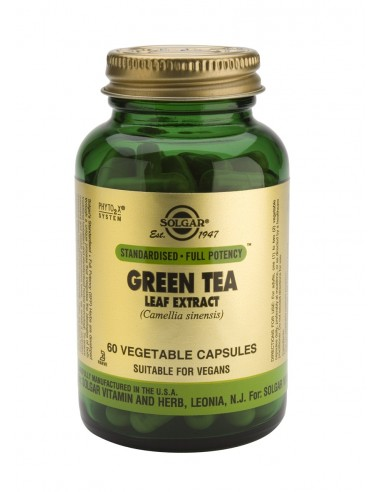 SOLGAR GREEN TEA LEAF EXTRACT veg.caps 60s