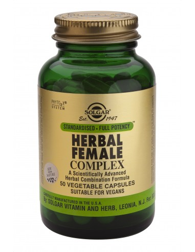 SOLGAR Herbal Female Complex Veg.Caps 50s
