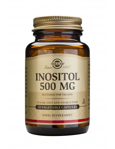 SOLGAR Inositol 500mg Veg.Caps 50s