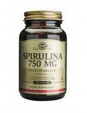 SOLGAR Spirulina 750mg 100...