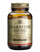 SOLGAR L-Carnitine 500mg 60...