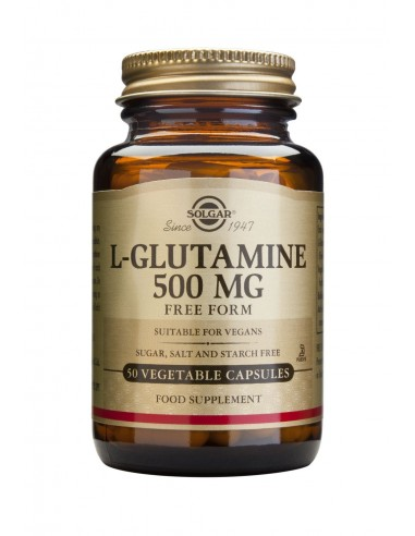 SOLGAR L-Glutamine 500mg 50 veg.caps