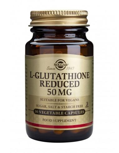 SOLGAR L-Glutathione 50mg Veg.Caps 30s