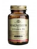 SOLGAR MAGNESIUM + B6 tabs 100s