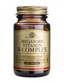 SOLGAR MEGASORB B COMPLEX 50 tabs 50s