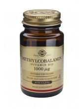 SOLGAR Methylcobalamin Vitamin B-12 1000μg nuggets 30s