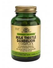 SOLGAR Milk Thistle/Dandelion Complex Veg.Caps 50s