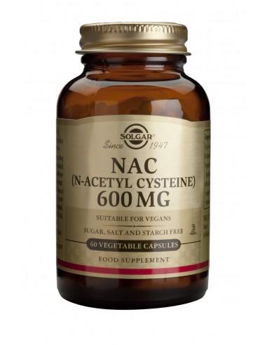 SOLGAR N-ACETYL-L-CYSTEINE (NAC) veg.caps 60s