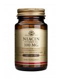 SOLGAR Niacin 100mg Tabs 100s