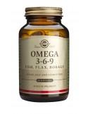 SOLGAR Omega-3-6-9 Softgels  60s