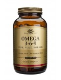 SOLGAR Omega-3-6-9 Softgels 120s
