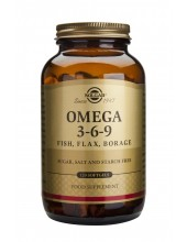 SOLGAR Omega-3-6-9 Softgels...