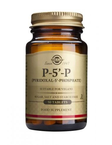 SOLGAR P-5-P (Pyridoxal) 50mg Tabs 50s