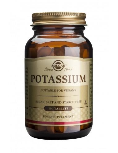 SOLGAR Potassium Gluconate 99mg Tabs...