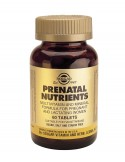 SOLGAR Prenatal Nutrients Tabs  60s