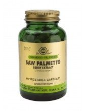 SOLGAR Saw Palmetto Berry Extract Veg.Caps 60s