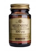 SOLGAR SELENIUM 100μg tabs 100s