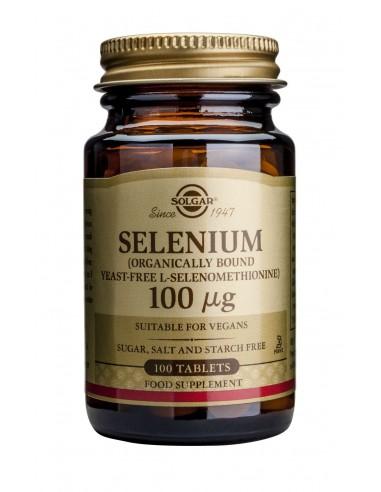 SOLGAR SELENIUM 100ug tabs 100s