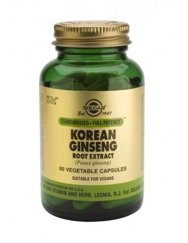 SOLGAR SFP Korean Ginseng Root Extract Veg.Caps 60s