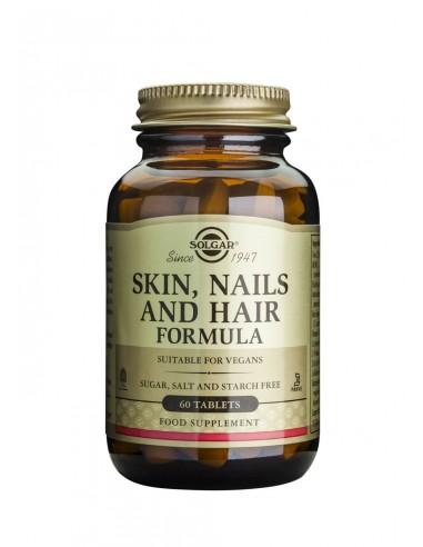 SOLGAR Skin, Nails and Hair Formula Tabs 60s
