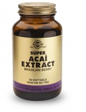 SOLGAR Super Acai Extract Softgels 50s